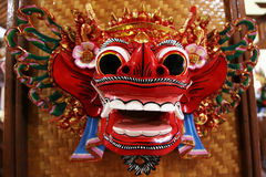 Visage de Barong Photo stock