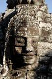 Visage de Bayon, Cambodge Photos libres de droits