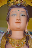Visage de beau Guanyin Photos stock