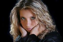 Visage de beauté Photo libre de droits