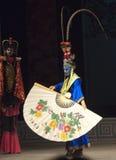 Visage de Bian Lian changeant l'opéra chinois Photo libre de droits