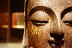 Visage de Bouddha Photos libres de droits