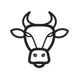 Visage de Buffalo Images stock