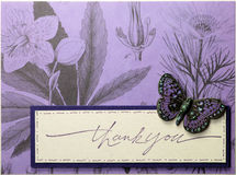 Visage de carte de voeux de Papercraft Image libre de droits