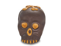 Visage de chocolat Images libres de droits
