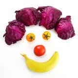 Visage de clown Photos libres de droits