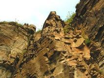 Visage de falaise Photographie stock libre de droits