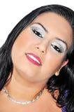 Visage de femme Photo stock