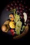 Visage de fruit images libres de droits