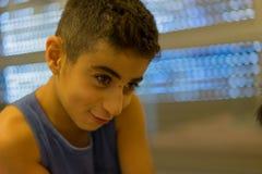 Visage de garçon Images libres de droits