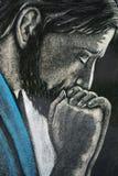 Visage de Jésus Image libre de droits