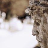 Visage de Jesus Christ dans le profil Photos stock