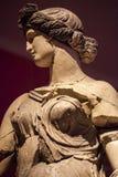 Visage de marbre d'âge et statue antiques de corps Photos libres de droits
