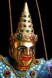 Visage de marionnette de la Thaïlande Images libres de droits