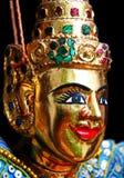 Visage de marionnette de la Thaïlande Photographie stock