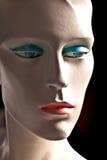 Visage de marionnette endommagée Images libres de droits