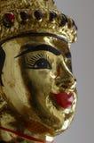Visage de marionnette thaïe Photographie stock libre de droits