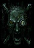 Visage de monstre Photographie stock libre de droits
