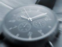 Visage de montre avec l'effet de zoom photo libre de droits