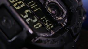 Visage de montre de Digital clips vidéos
