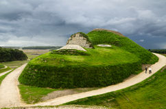 Visage de Northumberlandia photo stock