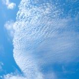 Visage de nuage photographie stock libre de droits