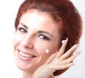 Visage de peau d'hygiène photographie stock