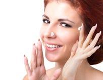 Visage de peau d'hygiène Photos stock
