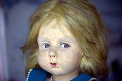 Visage de poupée de cru photo libre de droits