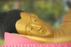 Visage de smiley de statue de Bouddha Image libre de droits