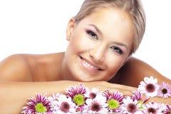 Visage de sourire Images stock
