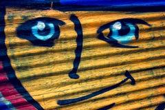 Visage de sourire Image stock