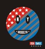 Visage de sourire Illustration Libre de Droits