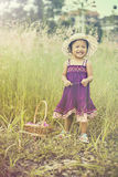 Visage de sourire des enfants Photographie stock libre de droits