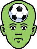 Visage de sports Images libres de droits