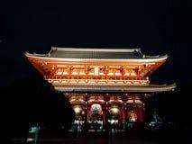 Visage de sud de porte de Hozomon au temple de Sensoji photo libre de droits