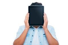 Visage de Tablette Photo stock
