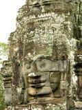 Visage de temple de Bayon Photo stock