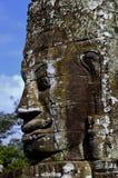 Visage de temple de Bayon, Angkor Photos libres de droits