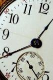 Visage de temps Images stock