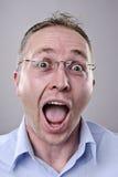 Visage drôle idiot Photo libre de droits