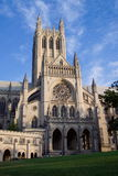Visage du nord de cathédrale nationale image stock