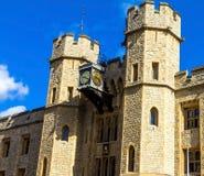 Visage du sud du bloc de Waterloo Tour de Londres Photographie stock libre de droits