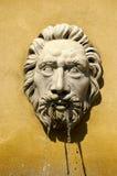 Visage en pierre Image stock