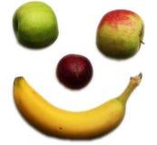 Visage fruité photo stock