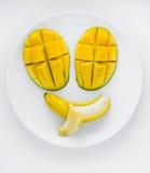 Visage fruité Images stock