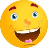 Visage heureux Photographie stock libre de droits