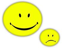 Visage heureux Image stock