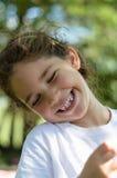 Visage heureux Photo stock