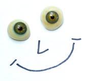 visage heureux Images stock